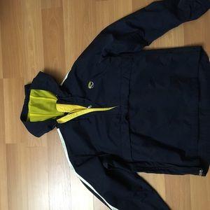 Nike Pullover Jacket (Michigan Blue & Gold)